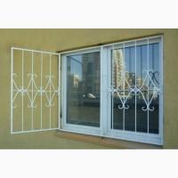 Решетки металлические на окна распашные