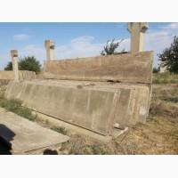 Плиты заборные, канальные, ограждения, 6000*2000 мм. толщина 7 см