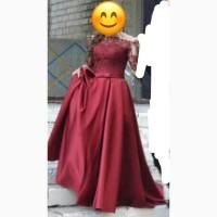 Продам б/у выпускное платье( носилось 1 раз)
