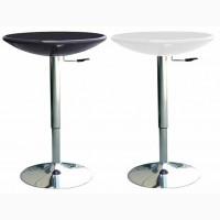 Стол барный Амира белый черный барный стол Амира