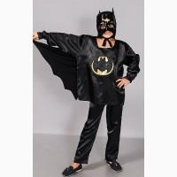 Детский карнавальный новогодний костюм Супер Бэтмен, размеры 32 - 38