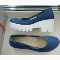 Туфли женские Ersax 37, 38, 39 Синие