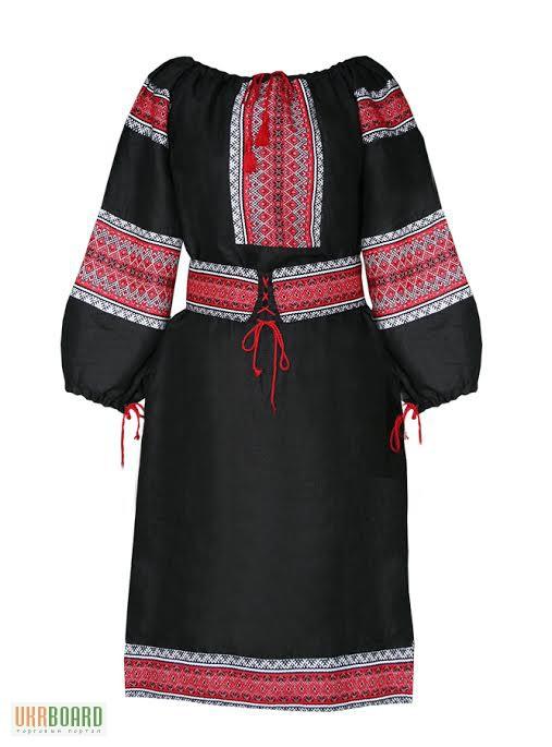 Платье вышиванка. Деревенский стиль Кантри Украина. Домотканное полотно.  Лен. ХБ e5b328bce7f5d