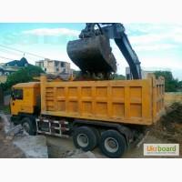 Вывоз строительного мусора, грунта, глины, суглинка, демонтаж