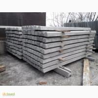 Столбы бетонные под сетку рабицу, виноградные столбы (столбики шпалерные)