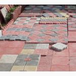 Брусчатка и тротуарная плитка самая