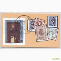 Почтовые марки Куба 1980. Блок RETRATO DE DAMA