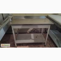 Стол из нержавейки бу, стол металлический бу