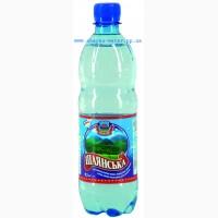 Шаянская, минеральная вода, сильно-газированная, ПЭТ, емк.0, 5л