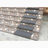 Противоскользящая резиновая накладка на ступени (750х330 мм)