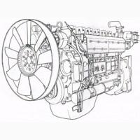 Дизельный двигатель WD615