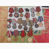 Ордена и медали с паспортами на них ВОВ