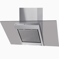 Вытяжка кухонная 60 см наклонная нерж.+стекло тонир. Польша