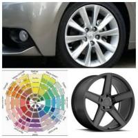 Порошковая покраска дисков автомобиля
