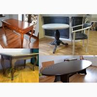 Столы, столики из натурального дерева на заказ