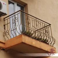 Кованые балконы под ключ