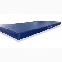 Маты гимнастические, размер 2м х 1м, толщина 10 см, цвет синий