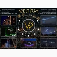 Подсветка башенного крана Украина