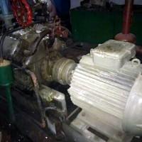 Запчасти компрессора NF-811 (поршня, гильзы, кольца, клапана, сальник)