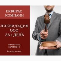 Експрес ліквідація підприємства. Ліквідація ТОВ у Києві за 1 день