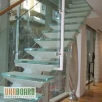 Стеклянные лестницы и ступени