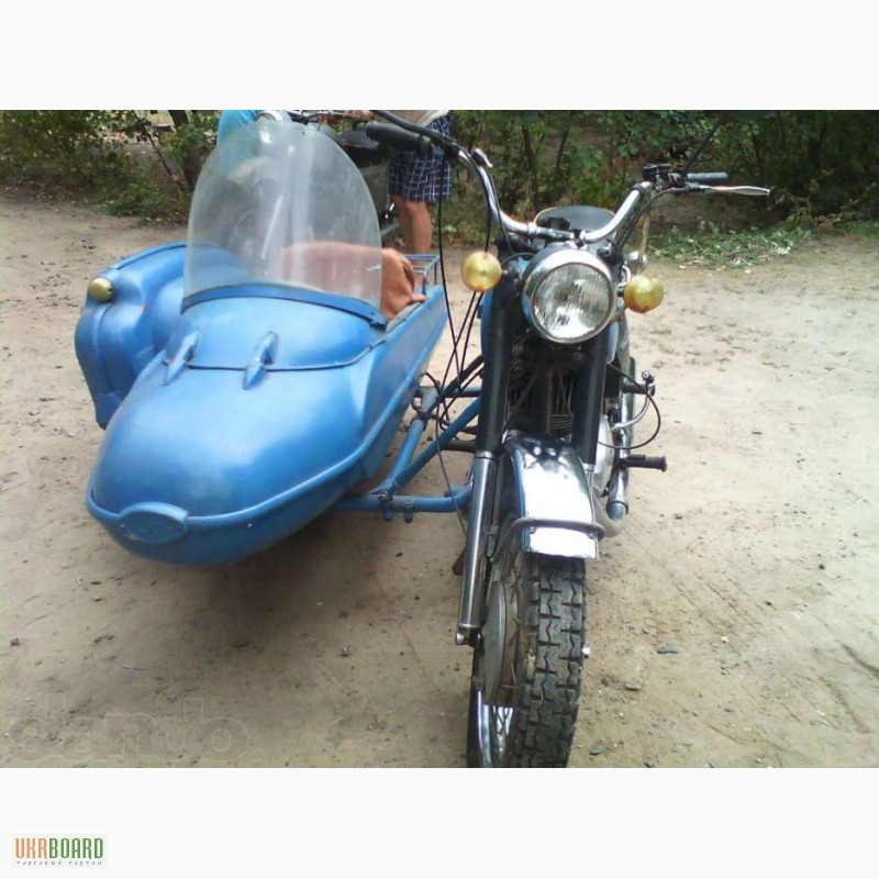 Продам мотоцикл с коляской ИЖ Планета 5, Вознесенск — Ukrboard Мотоцикл Иж Планета 5 с Коляской