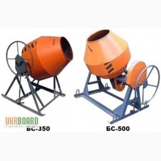 Бетонозмішувач БС-350 з планетарним редуктором