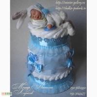 Торт из памперсов Моему зайчонку Харьков