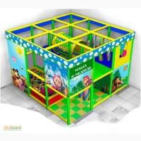 Детская игровая комната лабиринт для детей Машенька 2014