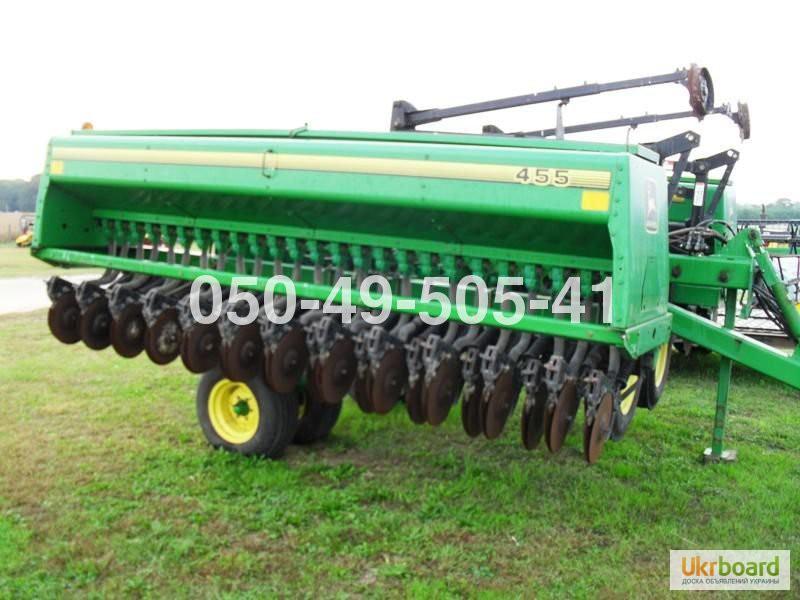 Фото 4. Сеялка зерновая Джон дир John Deere 455 (7,6 метров, 15 см. с сухими)