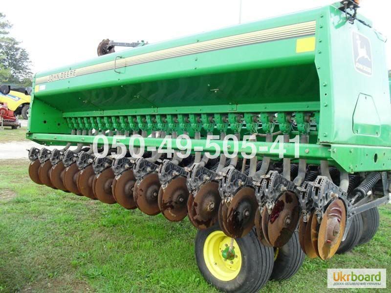 Фото 6. Сеялка зерновая Джон дир John Deere 455 (7,6 метров, 15 см. с сухими)