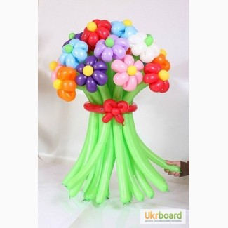 Цветы из шаров, Букеты из воздушных шариков в Киеве на Оболони