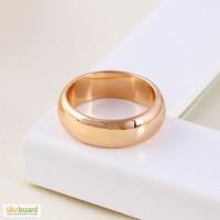 Обручальные позолоченные кольца