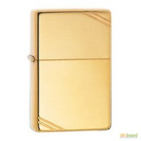 Зажигалка Zippo золотой слиток