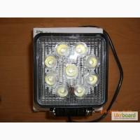 Дополнительная светодиодная фара LED 1210-27W flood ( луч рабочего света)