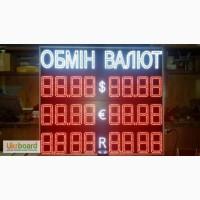 Спортивное табло, Табло курсов валют, Табло обмена валют