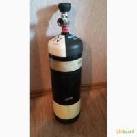 Акваланг. Баллон для сжатого воздуха 6.8 литров 300 бар с вентилем