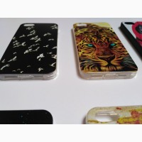 Чехол Бампер на iPhone 5 Тигр, Девочка