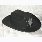 Шляпа Шерифа фетр детская. Акция