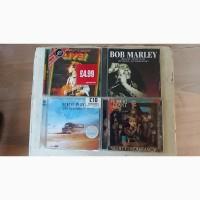 Продам фирменные CD аудио Bob Marley, Robert Plant - по 2 штуки