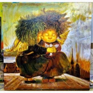 Картина Чувиляевой Ангелы исполнения желаний копия маслом