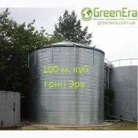 Резервуар на 100 кубов для жидкости, емкость 100 м. куб