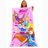 Полотенце с девочками Винкс Турция