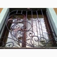 Решетки металлические оконные ажурные