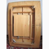 Стол деревянный раскладной ГДР б/у в нормальном состоянии