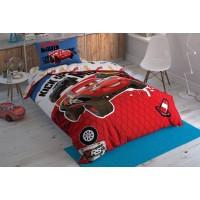 Детская постель тачки маквин Постельное белье Tac DisneyCars Adventure подростковая
