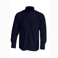 Рубашка мужская с длинным рукавом JHK SHRA POP LS, темно-синяя