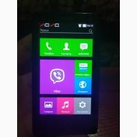 Компактный и хороший телефон Nokia X RM-980 под 2 симкарты