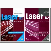 Продам Laser A1+, Laser A2, Laser B1, Laser B1+, Laser B2 Students book + work book
