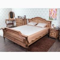 Спальный гарнитур Моника из массива дерева